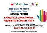 """Ddl """"Buona Scuola"""", iniziative unitarie dei sindacati del Lazio"""