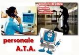 Pubblicazione gradiatoria provvisoria concorso per soli titoli per l'accesso ai profili professionali del personale A.T.A.